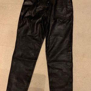 By Marlene Birger leather pants